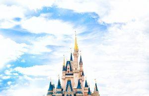 The Disney castle.