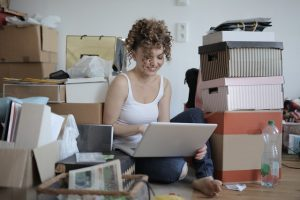 Moving from PA to the Big Apple with a plan and boxes.