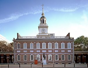 Independence Hall in Philly.
