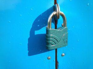 secured lock