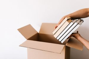 Storing your book collection in boxes