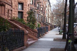 Street in Brooklyn.