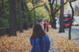 Kid Backpack Walk