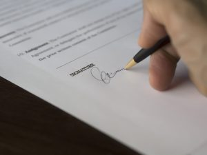 A signature on the contract as one of the most common challenges tenants in NYC face is signing a contract with a landlord. a contract and they need to stay until the contract expire.