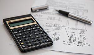 A calculator and a paper.